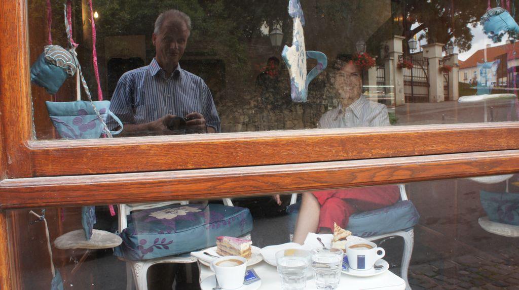 """Im Cafe """"Amelie"""""""