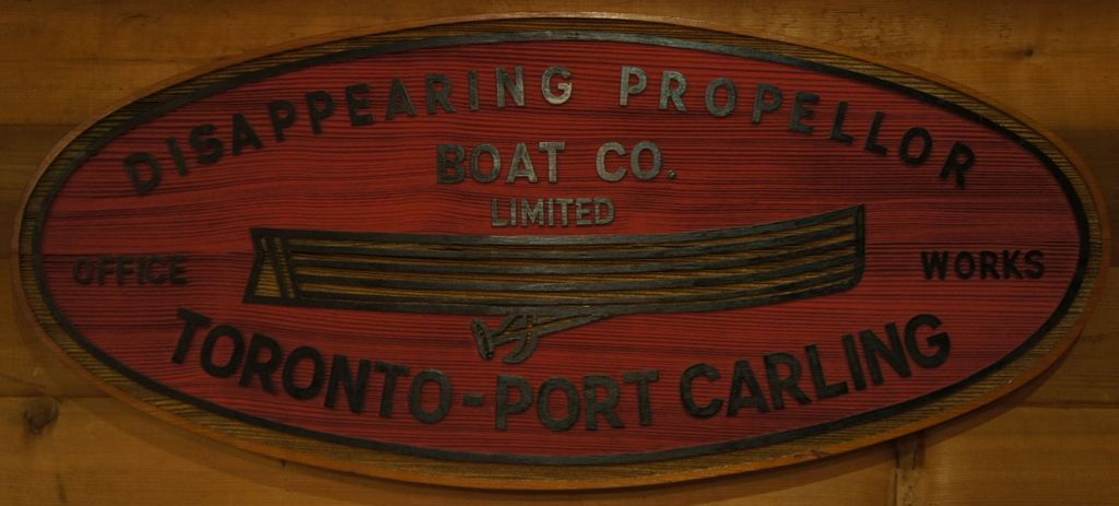 Dissappearing propeller Boat Co.