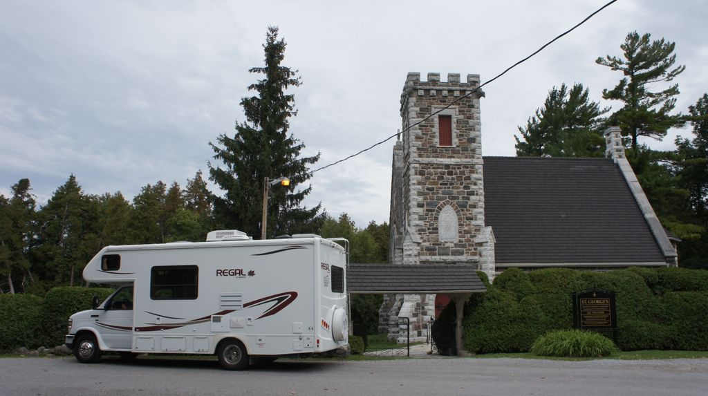 St. Georges Church at Sibbald Point